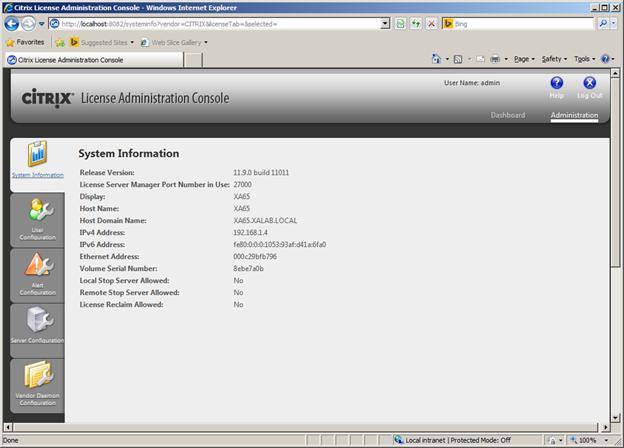 internet server manager