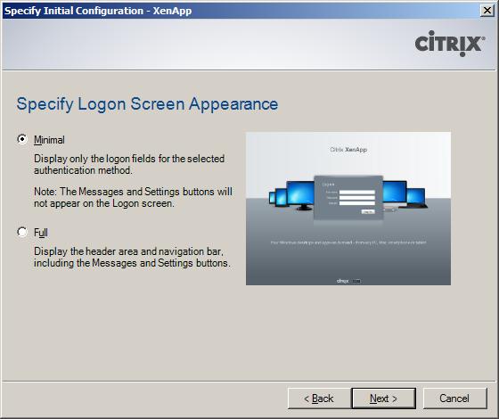 Citrix XenApp 6.5 Web Interface Configuration