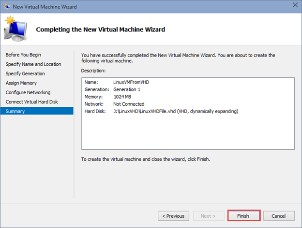 How to Virtualize a Linux Server using Only Microsoft Hyper-V