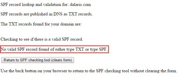 Postfix PART 5 – Adding SPF (TXT) Record | DALARIS TECH BLOG