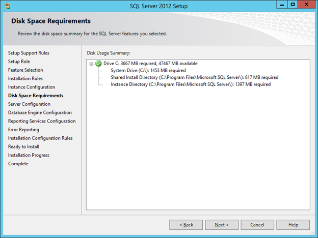 SCCM 2012 R2 PART 3 – Installing SQL Server 2012 SP1 | DALARIS TECH BLOG