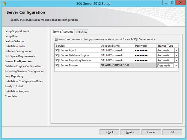 SCCM 2012 R2 PART 3 – Installing SQL Server 2012 SP1