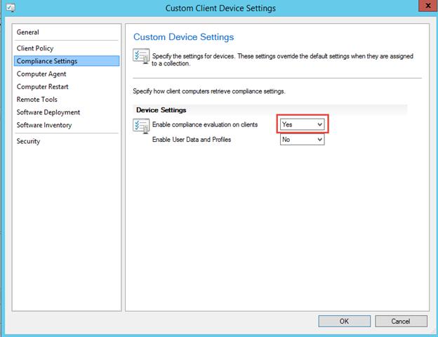 SCCM 2012 R2 PART 10 – Client Settings Configurations in
