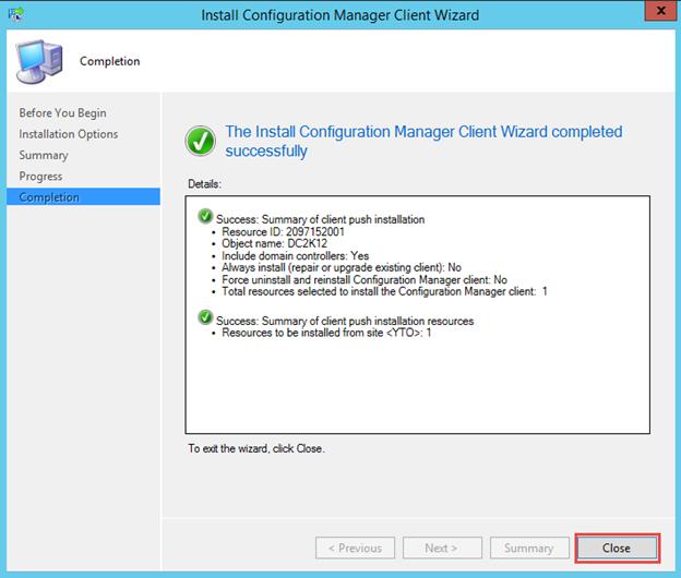 SCCM 2012 R2 PART 11 – Client Installation In SCCM 2012 R2 | DALARIS