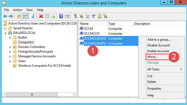 SCCM 2012 R2 PART 13 – Deploying Configuration Manager 2012