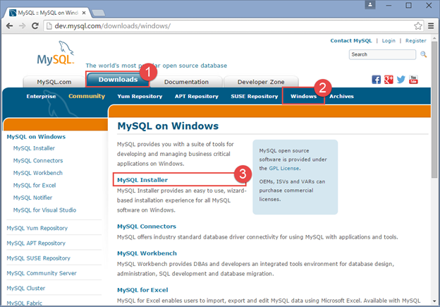 How to Install and Configure MySQL Server 5 6 24 0 in Windows 10 TP