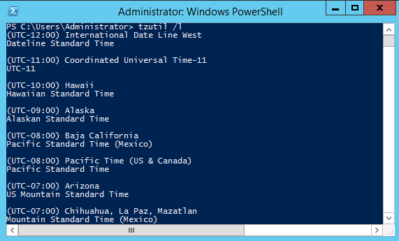 Managing Windows Server 2012 R2 Using PowerShell | DALARIS
