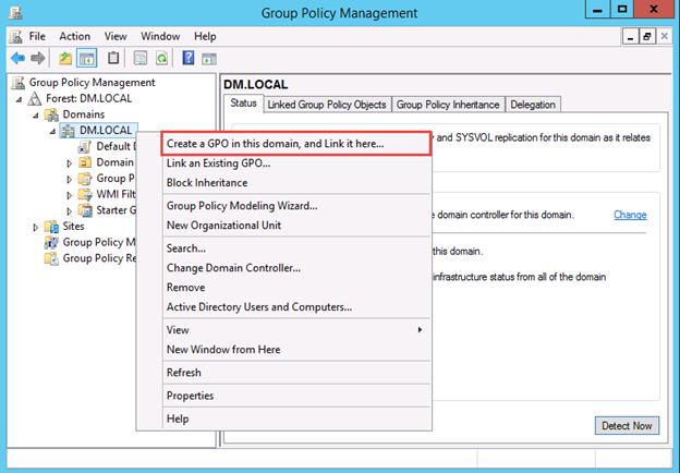 User Profiles and User Folders Redirection Using GPO